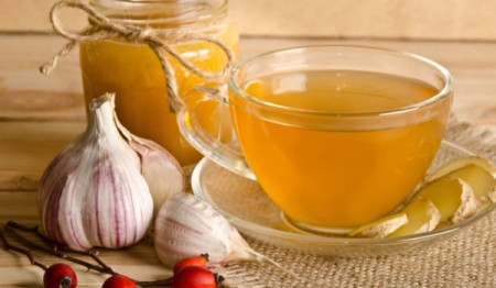 garlic-ginger-tea